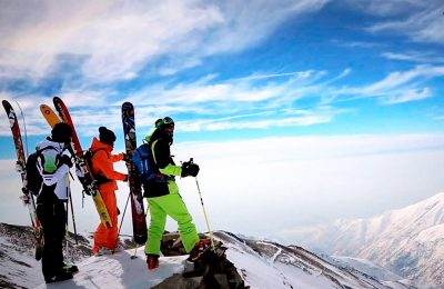 ski tour to iran